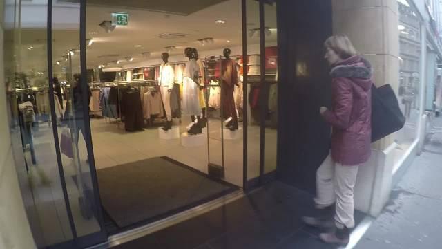 Trotz Black Friday: Wenig Betrieb in den Basler Läden