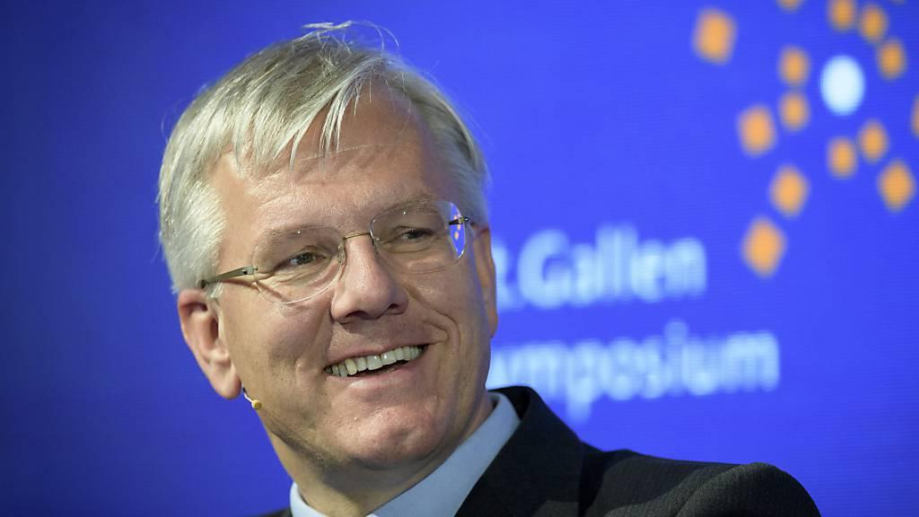 Das sind doch mal gute Nachrichten: Roche-Verwaltungsratspräsident Christoph Franz hofft auf eine Corona-Pille bis Ende Jahr (Archivbild).