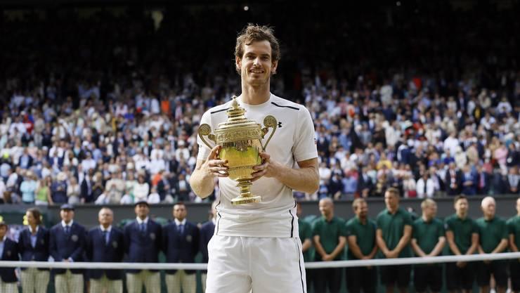 Andy Murray gewinnt zum dritten Mal einen Grand-Slam-Titel, zum zweiten Mal Wimbledon