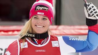 Lara Gut nach erstem Lauf mit ausgezeichneter Ausgangslage.