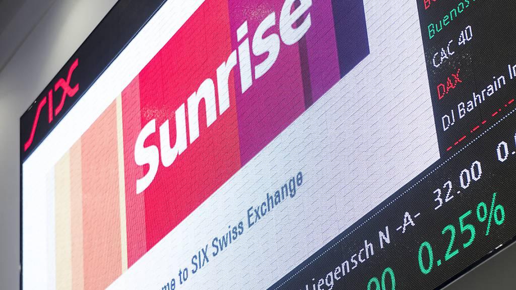 Die Sunrise-Aktien werden bald nicht mehr an der Schweizer Börse SIX gehandelt, weil das Unternehmen von UPC übernommen wurde. (Symbolbild)