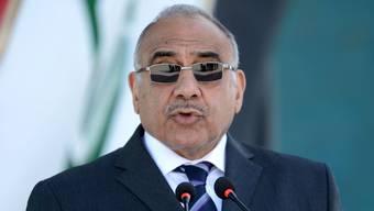 Abdel Mahdi nimmt den Hut. Sein Nachfolger soll rasch her. (Archivbild)