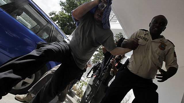 Verhaftung eines Baptisten im Januar