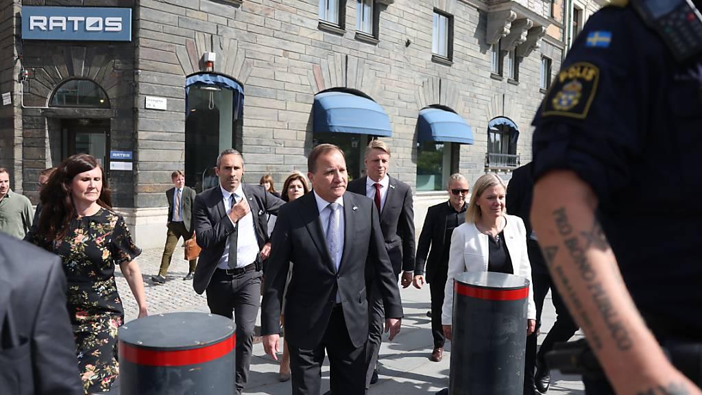 Schwedischer Regierungschef Löfven verliert Misstrauensvotum