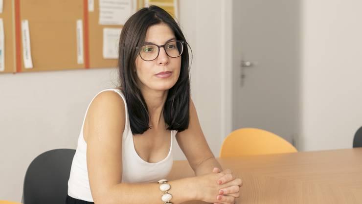 Schulpflegepräsidentin Christina Camadini.