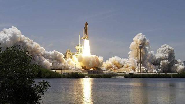 Die Atlantis startet zu ihrem letzten Flug