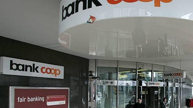 Filiale der Bank Coop in Basel
