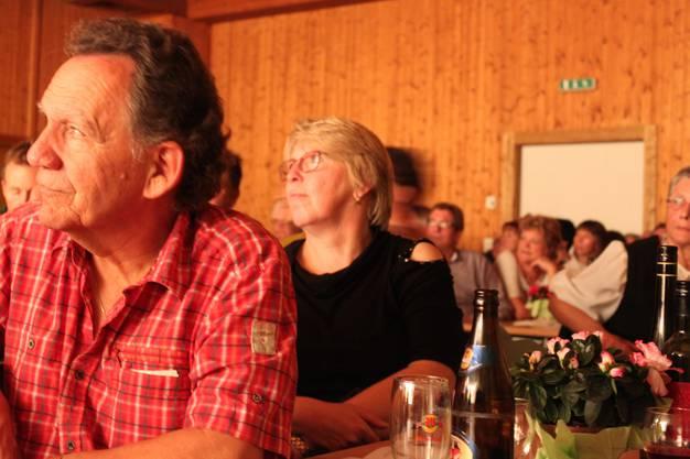 Zuschauerin Brigitta Haug stand die letzten Jahre selbst auf der Bühhne.