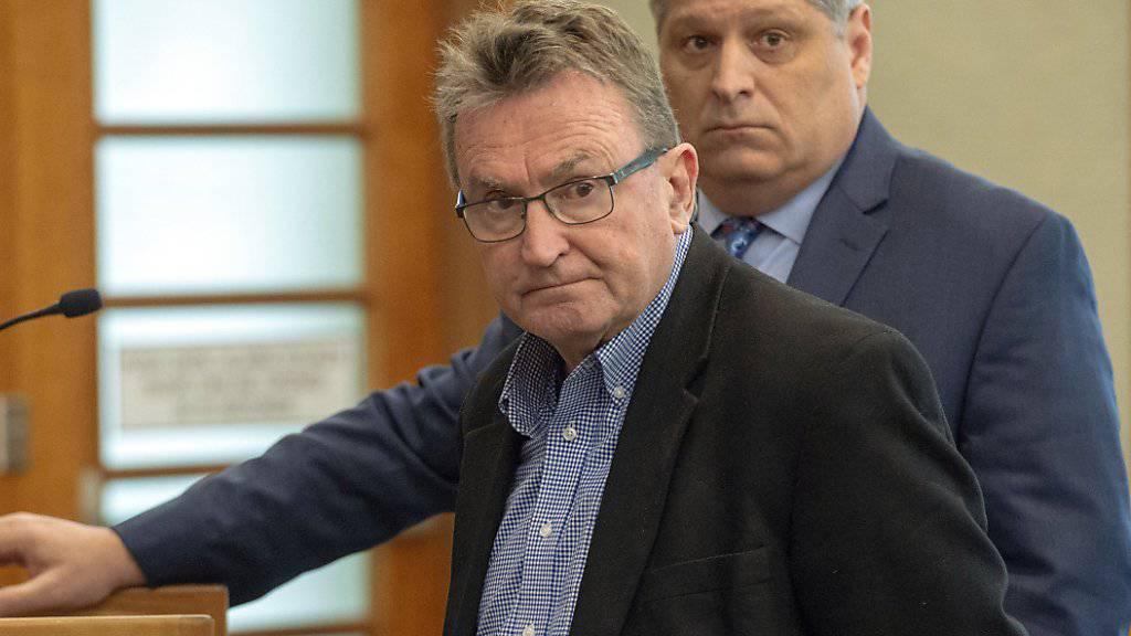 Filmemacher und Sundance-Mitbegründer Sterling Van Wagenen vor Gericht in American Fork im US-Staat Utah. (Archivbild)