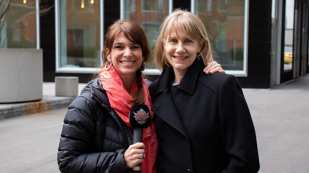 Corinna Glaus mit Sharon