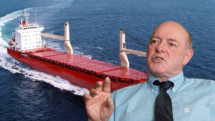 Eines der Hochseeschiffe, mit denen der Bund Millionen verlor. Giezendanner drängt auf Aufklärung in der Hochseeaffäre.