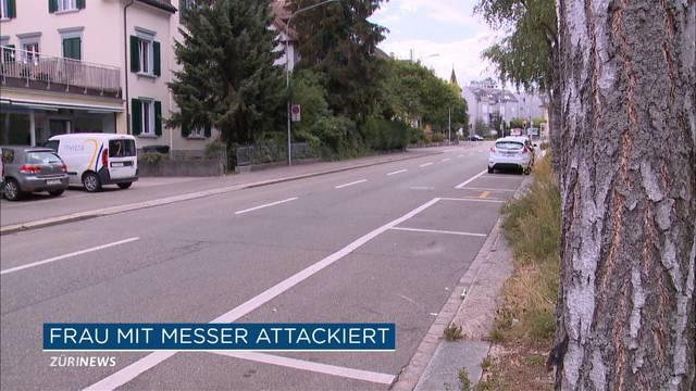 Messerstecherei in Zürich: Frau musste ins Krankenhaus