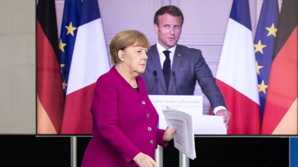Gewerkschaften finden Merkel-Macron-Plan unzureichend