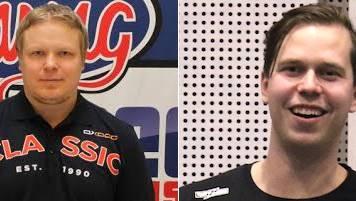 Simo Ruuskinen (links), neuer Assistenzrainer; Antti Peiponen (rechts), neuer Cheftrainer Herren