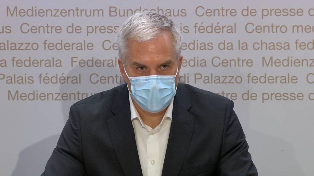 «Grund zur Freude» : Die Epidemie in der Schweiz ist rückläufig