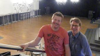 Wirt Peter Wyrsch (links) und Alleinunterhalter Erwin Wicki organisieren im Chillout neu Tanznachmittage für ältere Menschen.