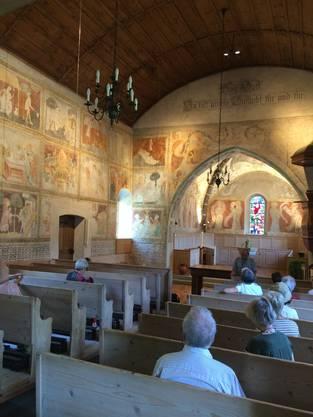 Kirche in Erlenbach im Simmental
