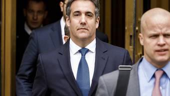 Trumps Ex-Anwalt Michael Cohen soll sich laut Medienberichten zu einem Schuldeingeständnis erklärt haben. (Archivbild)