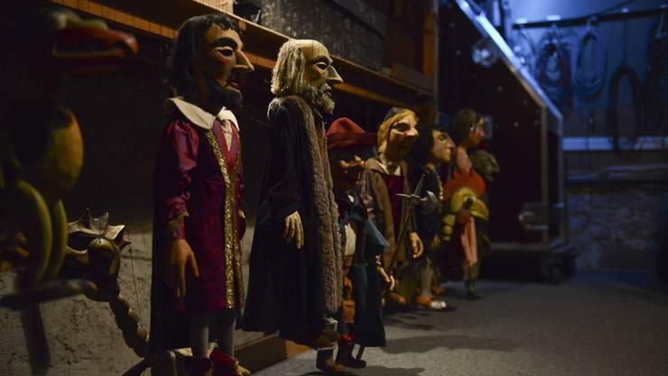 Das Marionetten Theater Basel zeigte auch schon Faust. (Archivbild)
