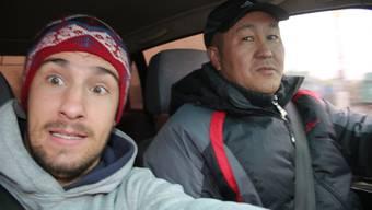 Per Autostopp um die Welt 2: Thomas Schlittlers Selfies mit den Fahrern, die ihn mitgenommen haben