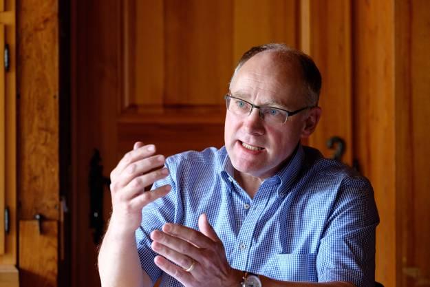 Politik liegt Knecht im Blut: Bereits sein Vater Hansruedi Knecht vertrat die SVP im Grossen Rat.