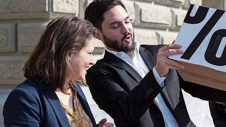 Die neuen SP-Präsidenten? Mattea Meyer und Cédric Wermuth.