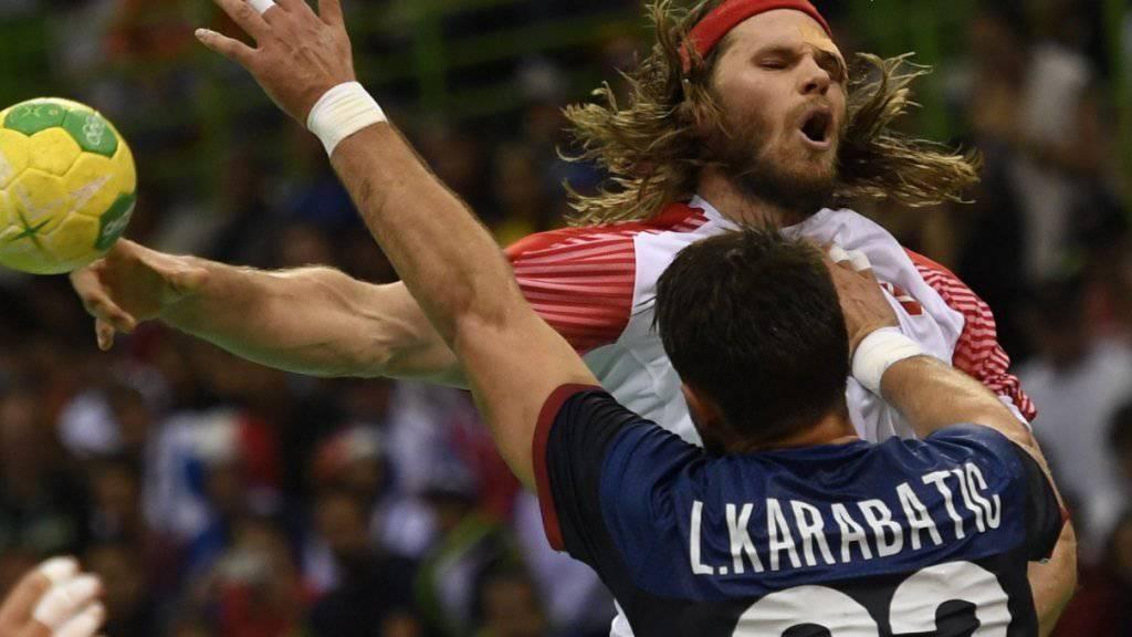 Dänemark mit Mikkel Hansen setzte sich im Handball-Final gegen Frankreich durch und gewann erstmals Olympia-Gold
