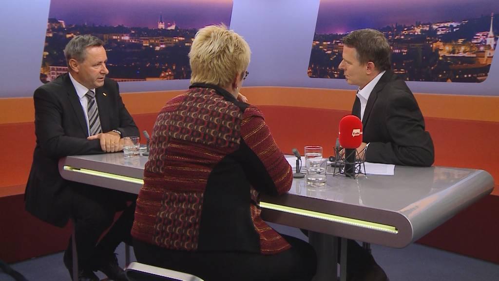 """""""Wahl-Talk"""" mit Beatrice Simon und Werner Salzmann"""