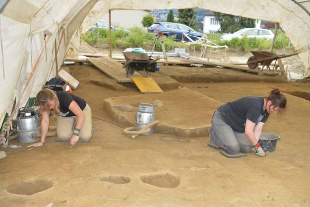 Überreste einer früheren, keltischen Siedlung