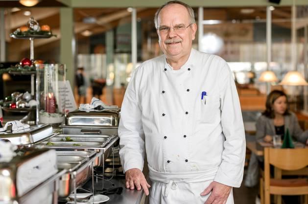 Gault-Millau-Legende Siegfried Rossal geht im Alter von 70 Jahren in den Ruhestand. Zuletzt hat er im Tenniscenter Sportcenter Leuggern gekocht.