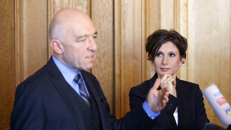 Bruderer wird innerhalb der SP zum sozialliberalen Flügel gezählt, genauso wie der Zürcher Ständerat Daniel Jositsch.
