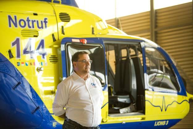 Die Alpine Air Ambulance (AAA) ist seit 5 Jahren auf dem Flugplatz Birrfeld stationiert.