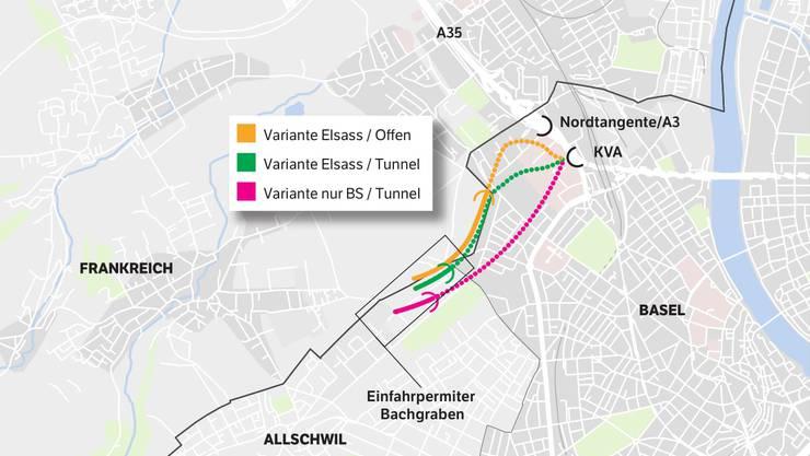 Das sind die Tunnel-Varianten