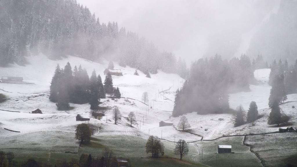 In Alt St.Johann hat es bereits am 23. Oktober dieses Jahres geschneit.