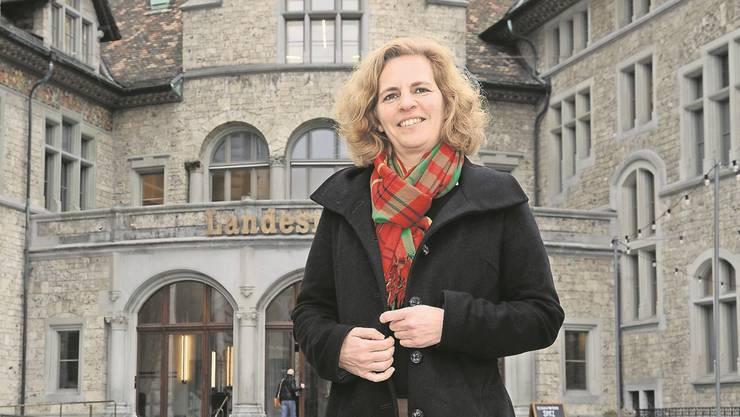 Hat nichts dagegen, als stille Schafferin bezeichnet zu werden: die grüne Stadtratskandidatin Karin Rykart.