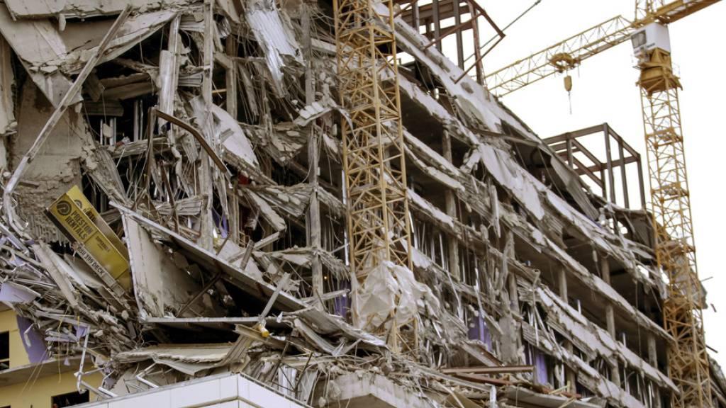Geplantes Hard-Rock-Hotel eingestürzt - ein Toter