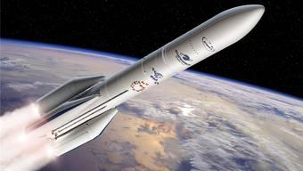 Mit der Trägerrakete Ariane 6 will Europa gegen die internationale Konkurrenz in der Raumfahrt bestehen.