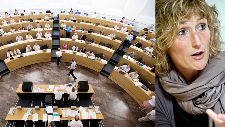 Plädiert für die Öffnung von Bundeszentren für Asylsuchenden: Frau Landammann Susanne Hochuli
