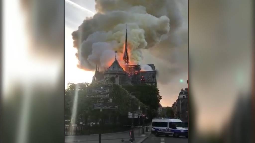 Inferno in Notre-Dame: Immenser Schaden