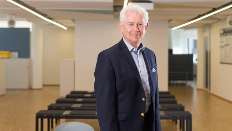 Will auch mit 70 noch nicht in Rente: Pharma-Manager Bill Burns.