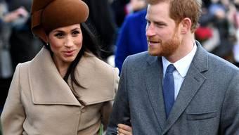 Jedes Outfit, jede Aussage wird auf die Goldwaage gelegt. Das ist das Los des künftigen Royal-Ehepaares Prinz Harry und Meghan Markle. (Archivbild)