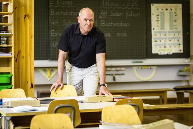 Philipp Grolimund, Co-Präsident Verband Schulleiterinnen und Schulleiter Aargau (VSLAG).