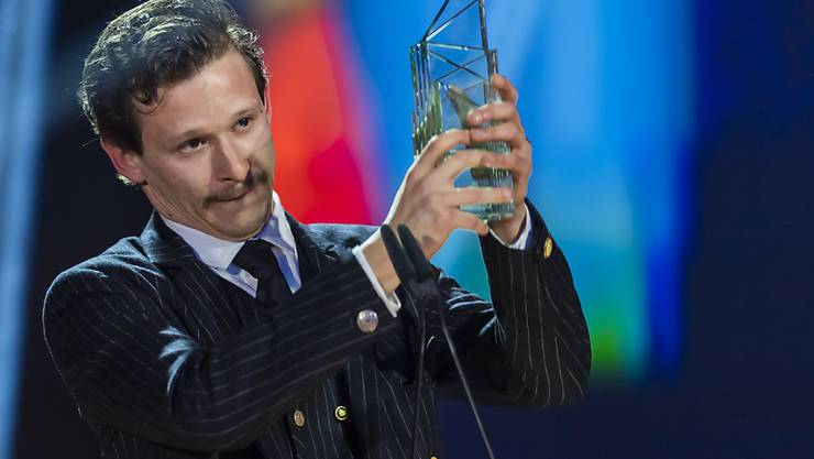 Joel Basman stemmt im Vorjahr den Quartz als bester Schauspieler. Auch 2020 ist er wieder unter den Nominierten. (Archivbild)