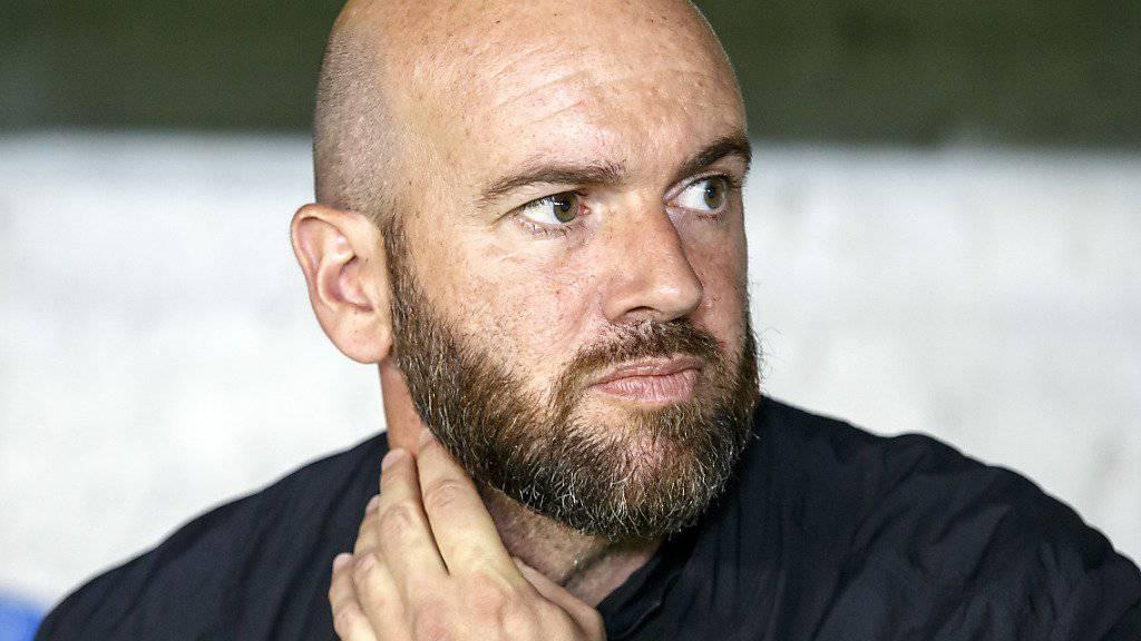 Feierte mit Vaduz in Chiasso einen Auswärtssieg: Trainer Roland Vrabec