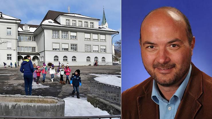 Steht unter Druck: Thomas Schöni, Schulleiter Hägendorf