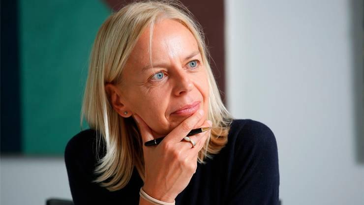 Freut sich auf die neue Herausforderung: Direktorin Sabina Larcher. zvg