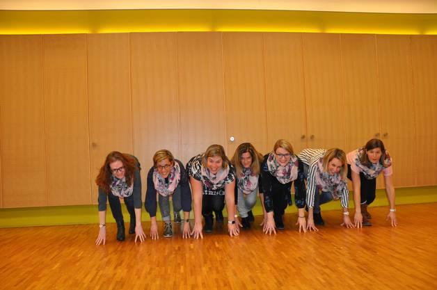 von links: Karin Rötheli, Simone Hänggi, Nicole Grütter, Hildi Disteli, Nora Haus, Andrea Wüthrich, Manuela Heuri