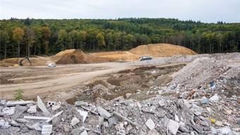 Die Deponie Höli in Liestal ist bald voll – bereits nächstes Jahr.