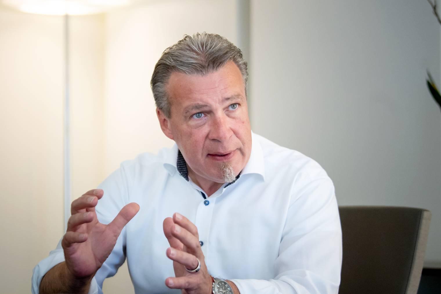 Ralph Bleuer ist Präsident von Pro City St.Gallen und Geschäftsführer von Markwalder.