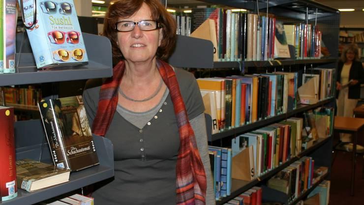 Ursula Grob, Leiterin der Regionalbibliothek Affoltern. (Bild Werner Schneiter)